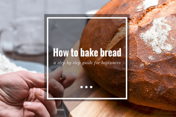 How to bake bread - title