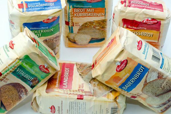 Brotbackmischung Test - Die Kandidaten